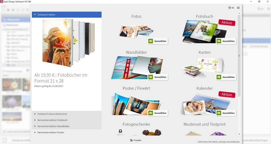 Saal Digital Designsoftware online