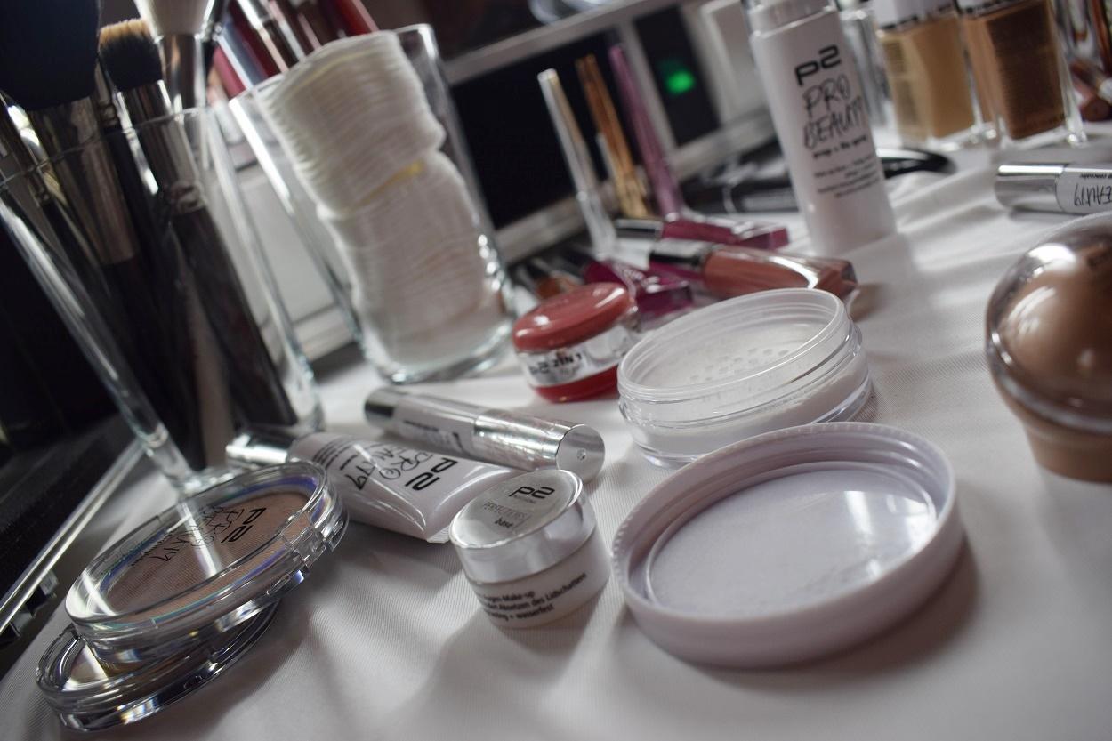 p2 Cosmetics Pro Beauty Box Schminktisch BBC17 Sunnyside-of-life