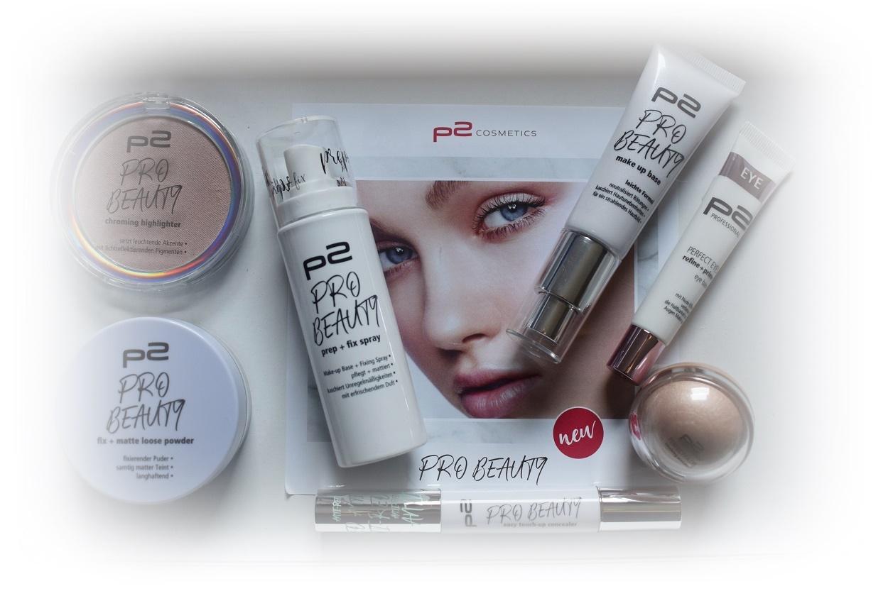 p2 Cosmetics Pro Beauty Box gesamter Inhalt Sunnyside-of-life