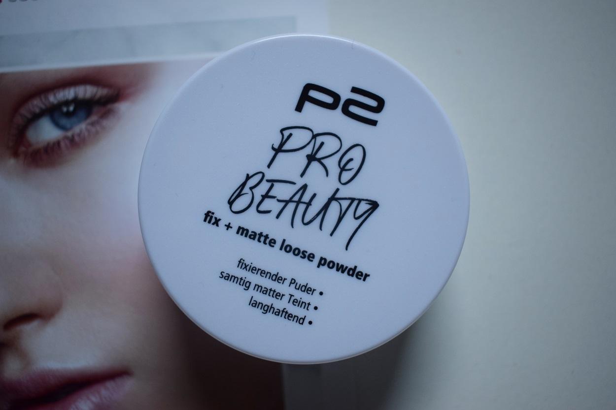 p2 Cosmetics Pro Beauty Box fix und matte loose powder sunnyside-of-life