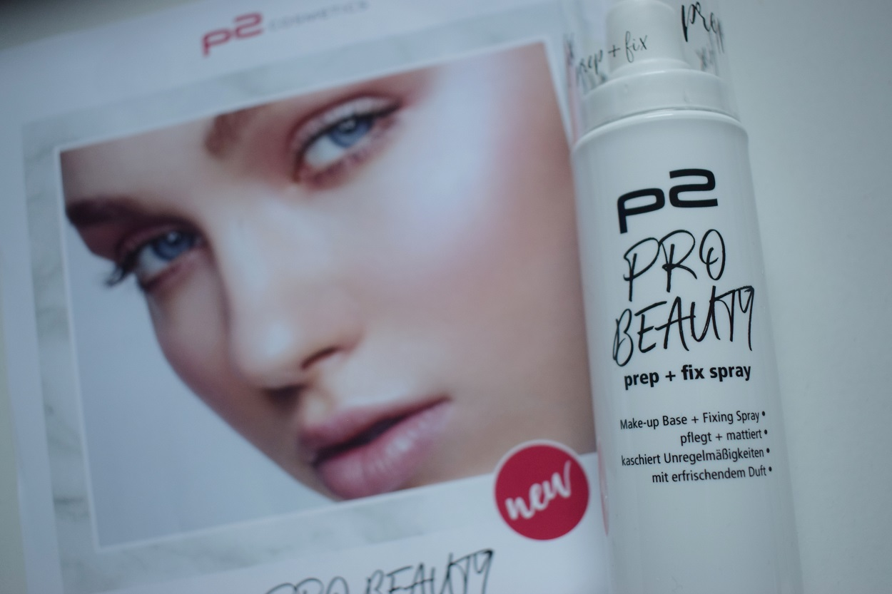 p2 Cosmetics Pro Beauty Box prep and fix spray Sunnyside-of-life
