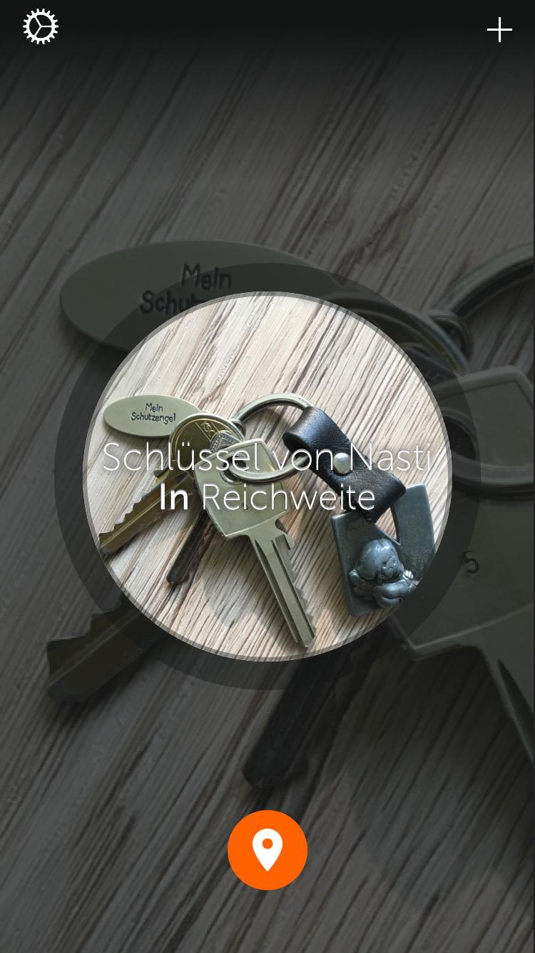 Gigaset Keeper Meldung Schlüssel in Reichweite Sunnyside-of-life