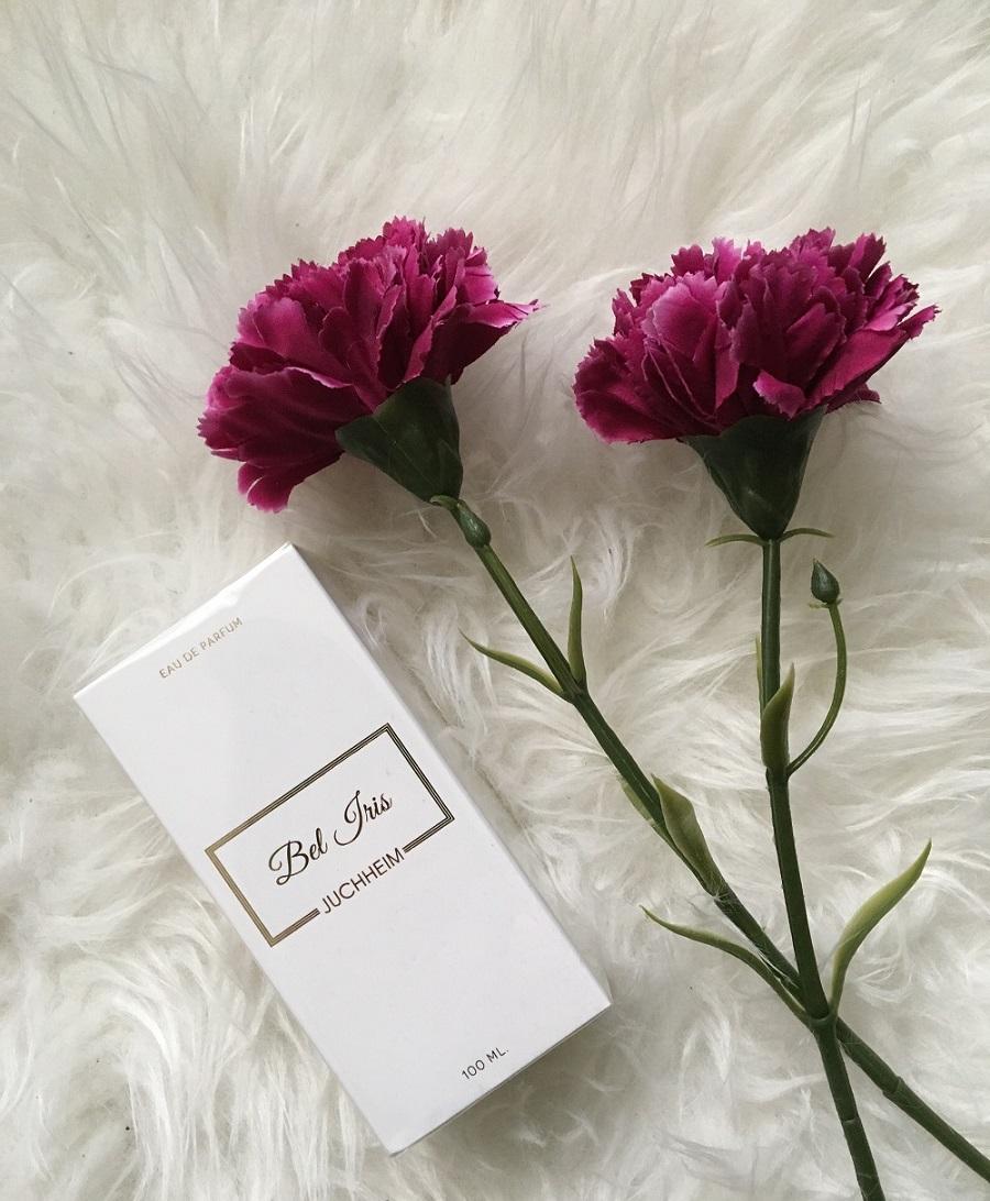 Bel Iris Parfum von Juchheim Verpackung Sunnyside-of-life