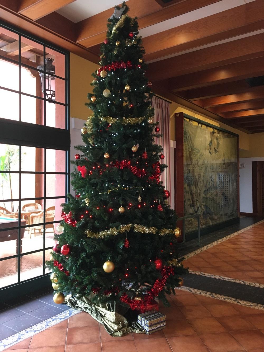 Die Reise nach La Palma - Teil 2 Weihnachtsbaum Empfangshalle - Sunnyside-of-life