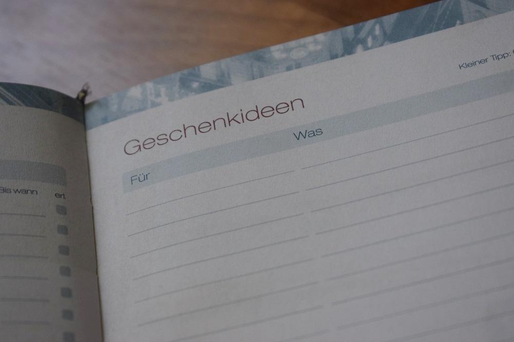 Häfft Terminplaner Kalenderblatt Geschenkideen www.sunnyside-of-life.de