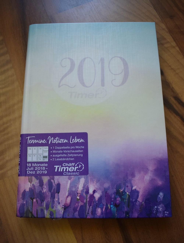 Häfft Terminplaner Cover von vorne 2019 www.sunnyside-of-life.de