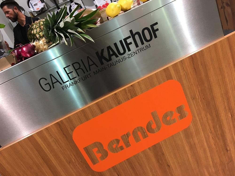 Berndes Bloggertreffen in der Galeria Kaufhof im Main-Taunus-Zentrum