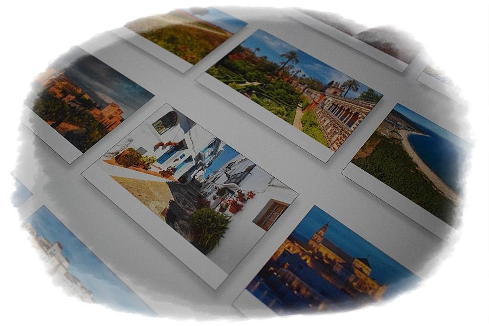 Panoramakalender Andalusien Korschverlag alle Kalenderblätter Rückseite