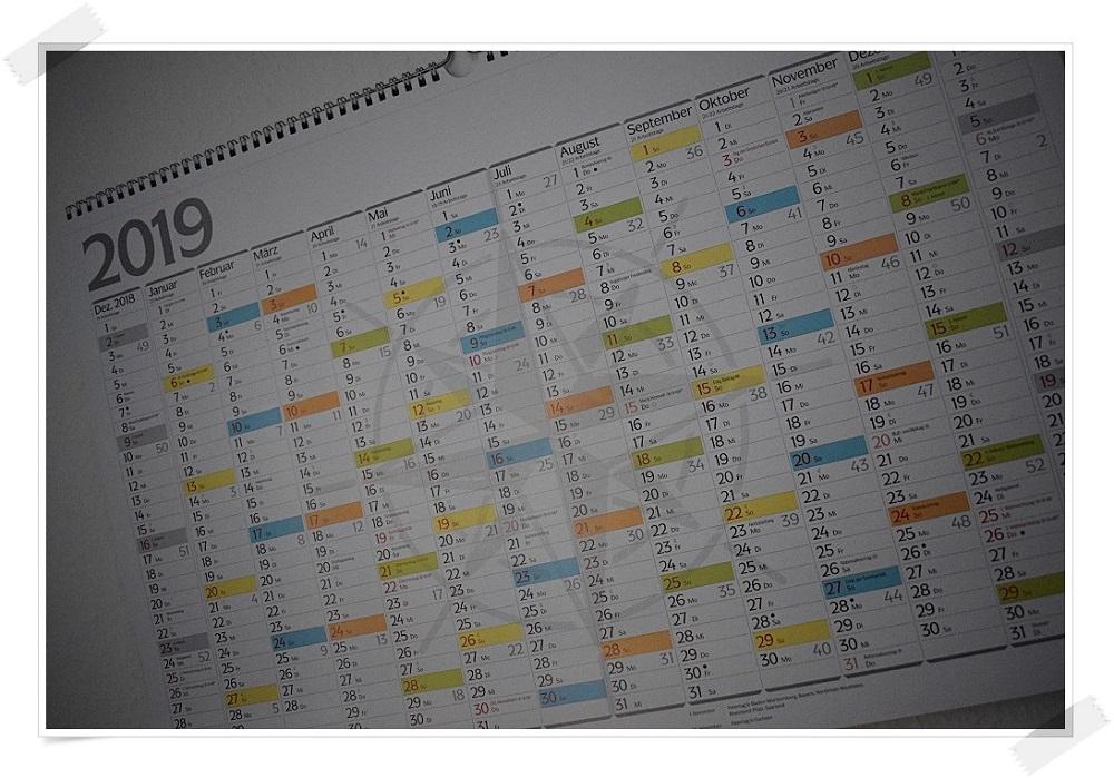 Panoramakalender Andalusien Korschverlag Kalenderblatt Jahresplaner 2019