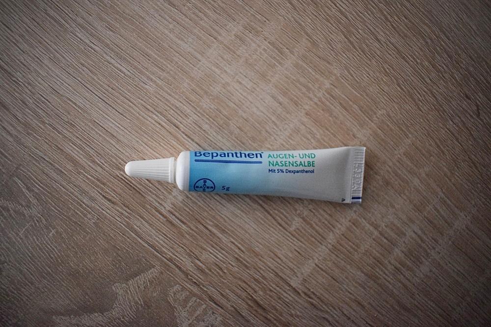 Tipps für die Erkältungszeit - Bepanthen Augen- und Nasensalbe Tube