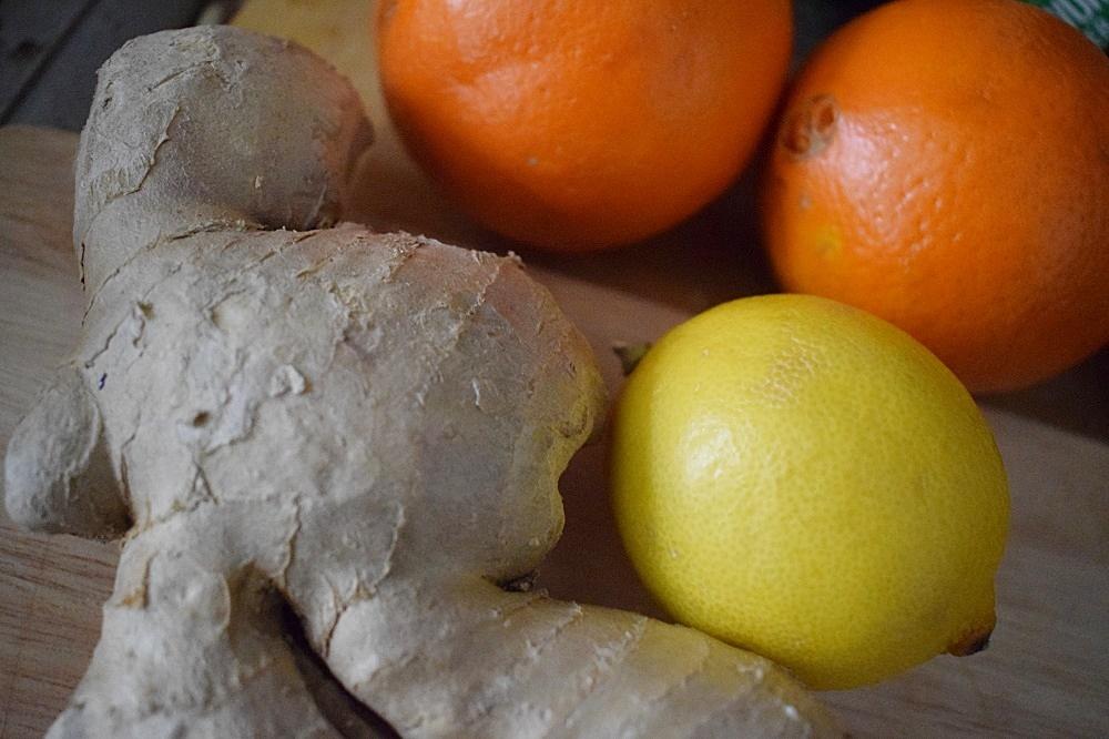 Tipps für die Erkältungszeit - Ingwer, Orangen, Zitrone