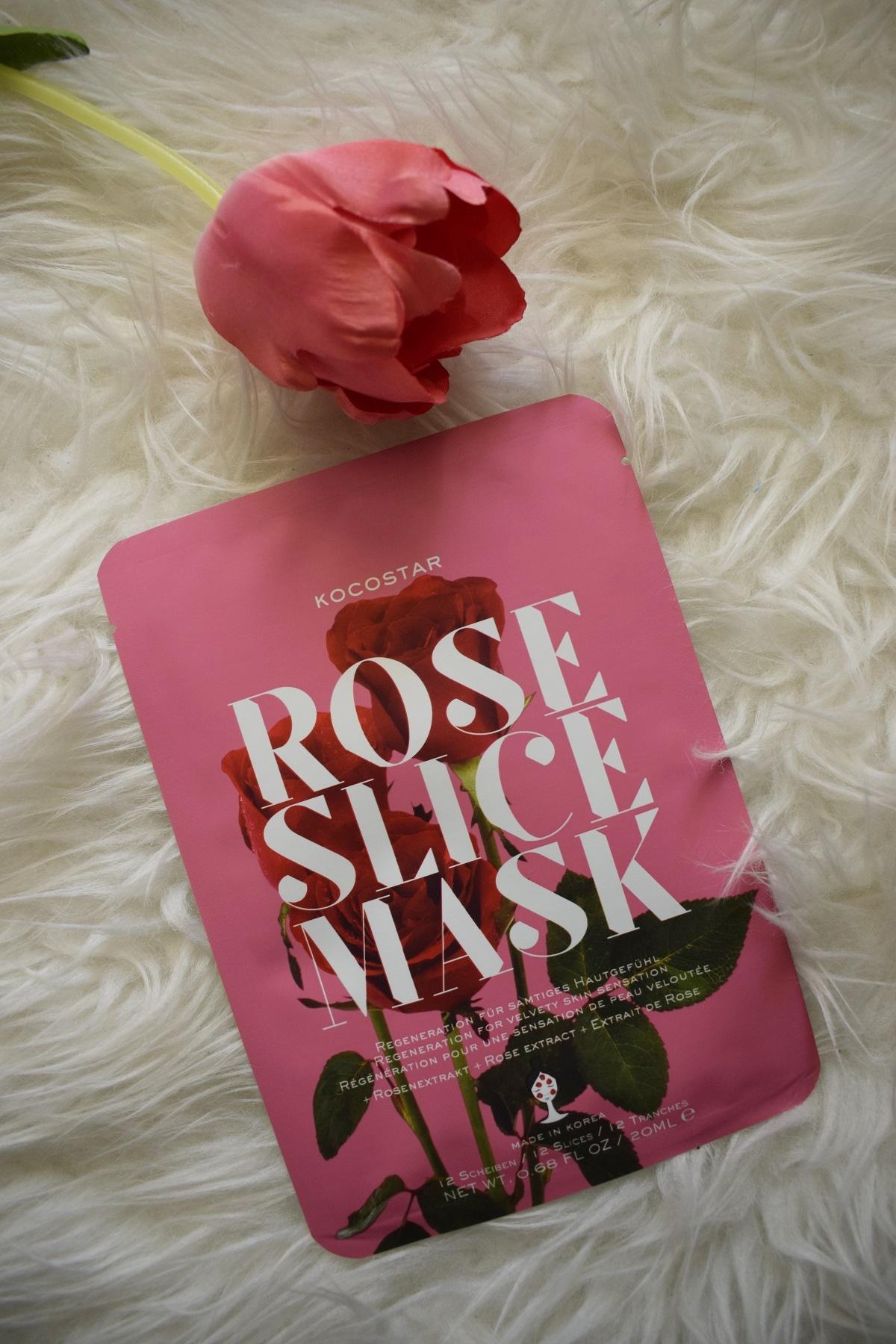 Alles neu macht der Mai - kocostar rosen gesichtsmaske