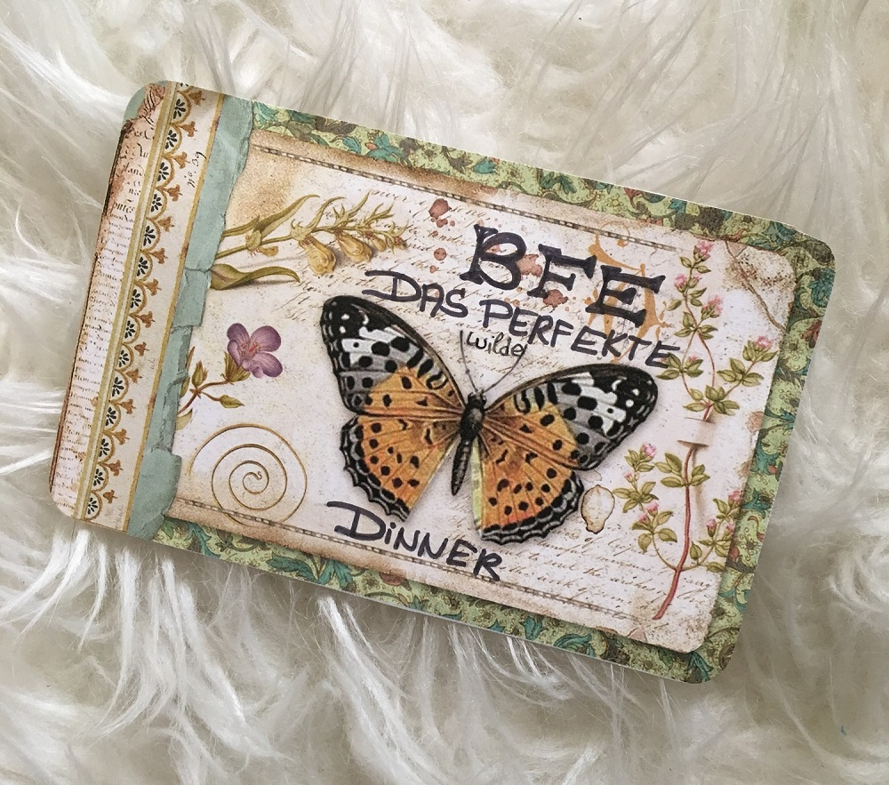 BFE Bloggertreffen 2019 die Goodiebag Einladungskarte
