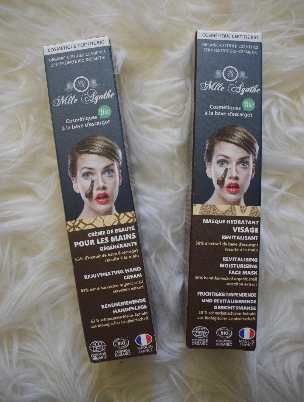 BFE Bloggertreffen 2019 die Goodiebag Mlla Abathe Handcreme und Gesichtsmaske