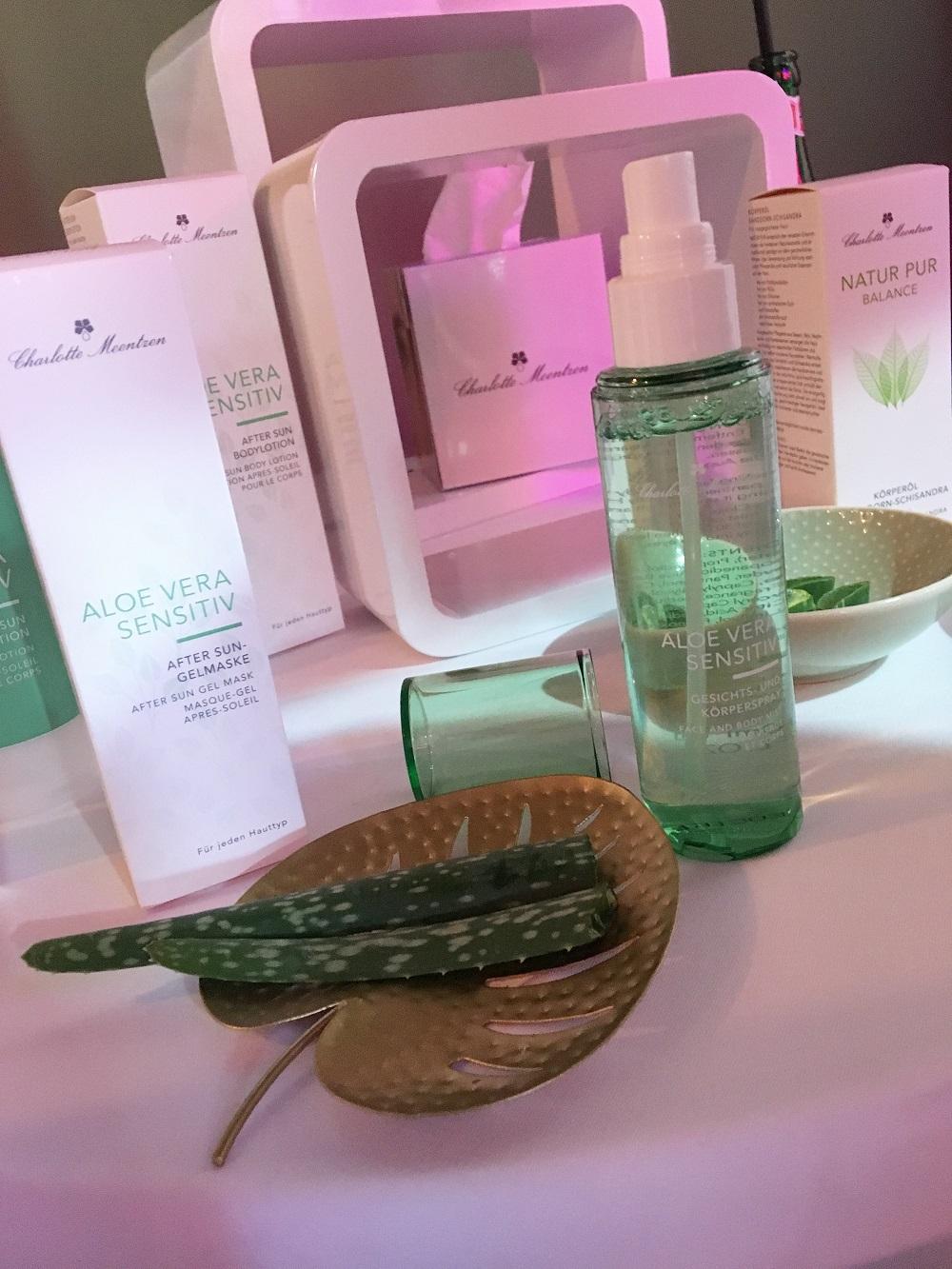 Green Cosmetics Bloggerevent Charlotte Meentzen Aloe Vera Serie
